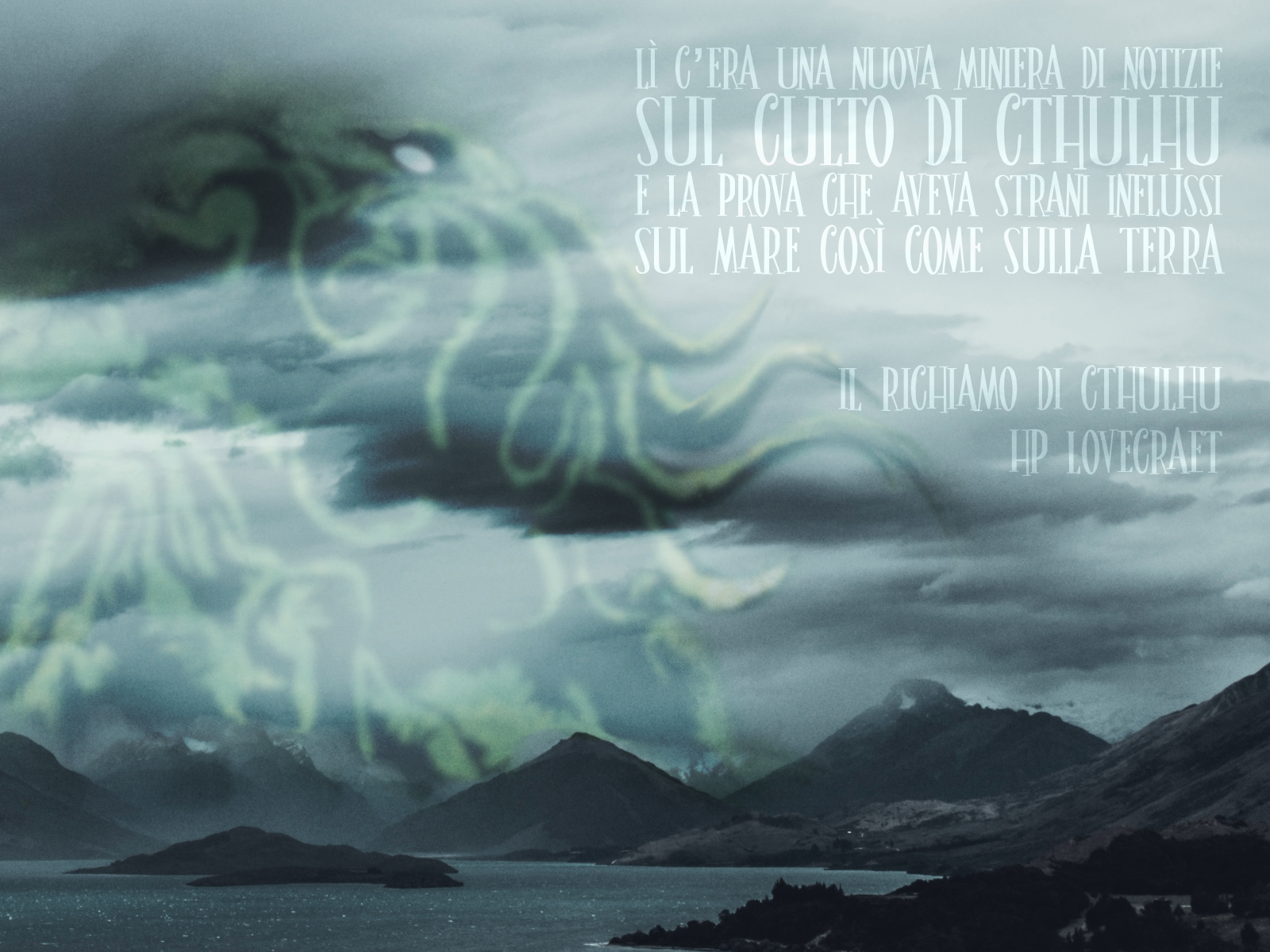 Thank God It's Friday – Il Richiamo di Cthulhu – HP Lovecraft