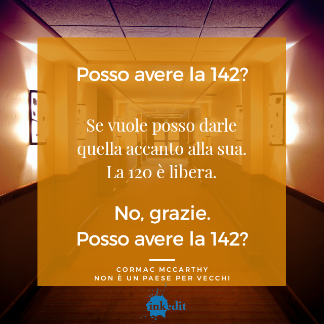 Thank God It's Friday – Non è un paese per vecchi – Cormac McCarthy