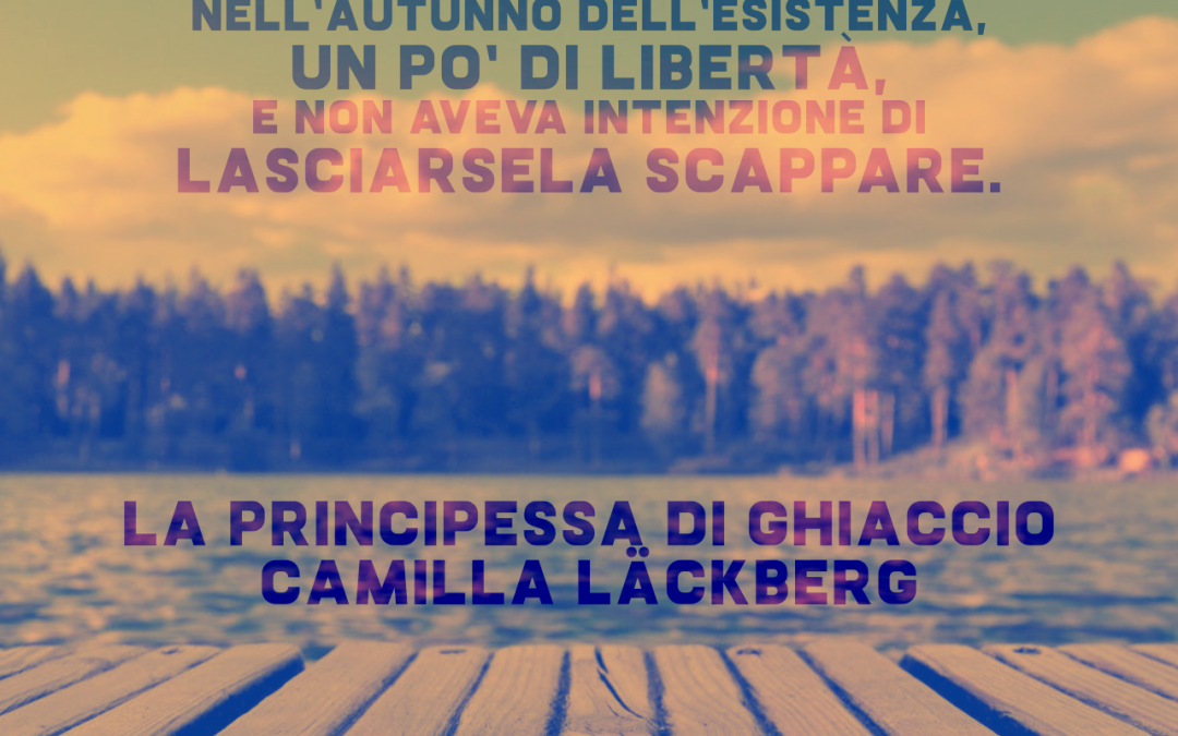 Thank God It's Friday – La principessa di ghiaccio – Camilla Läckberg