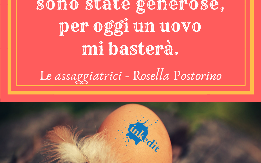 Thank God It's Friday – Le assaggiatrici – Rosella Postorino