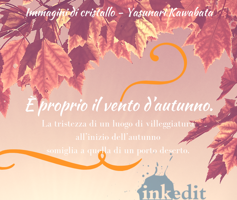 Thank God It's Friday – Immagini di cristallo – Yasunari Kawabata
