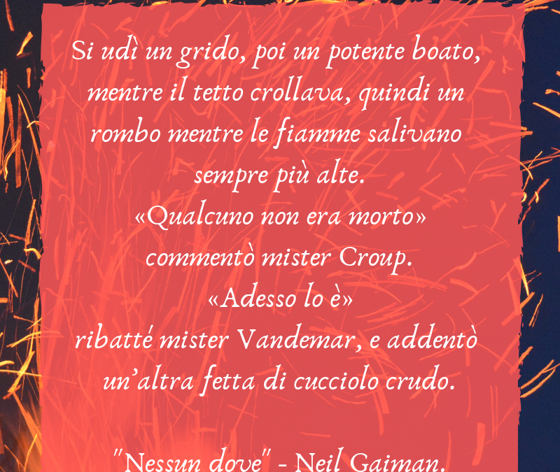 Thank God It's Friday – Nessun Dove – Neil Gaiman