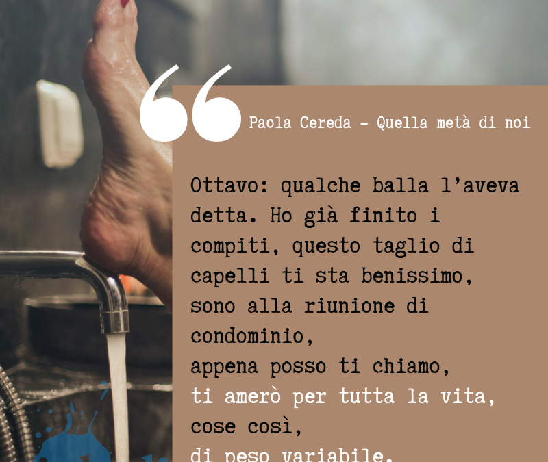 Thank God It's Friday – Paola Cereda – Quella metà di noi