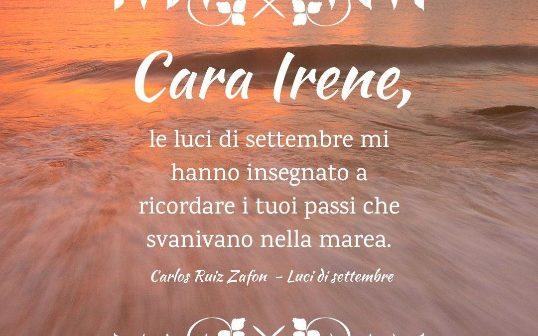 Thank God It's Friday – Luci di settembre – Carlos Ruiz Zafòn